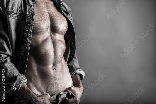 Obraz Muscular young man - fototapety do salonu