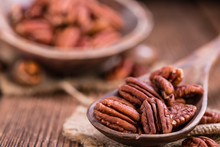 Heap Of Pecan Nuts (selective ...