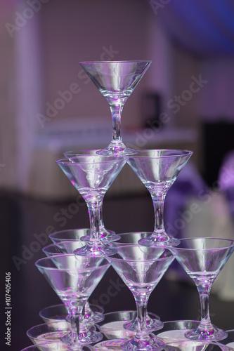 Foto op Plexiglas Bar Champagne in glasses