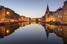 A View Of The River Lee In Cor...