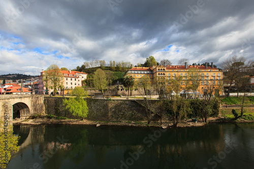 Wall Murals Northern Europe landscape of Amarante, town in the north of Portugal