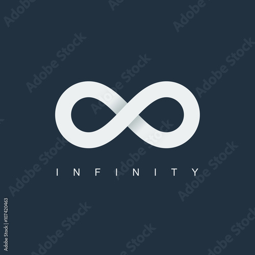infinity symbol Poster Mural XXL