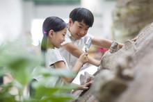 Children In Museum Of Natural ...