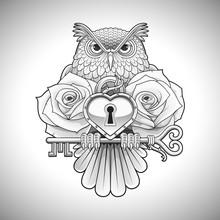 Beautiful Black Tattoo Design ...