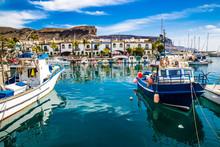 Port In Puerto De Mogan, Gran ...