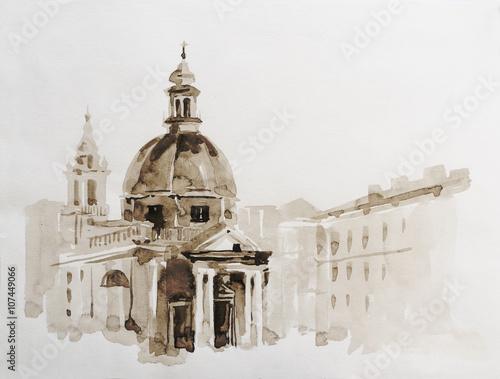graficzna-ilustracja-rzymu-w