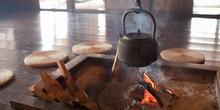 Irori (Japanese Hearth) At Traditional House