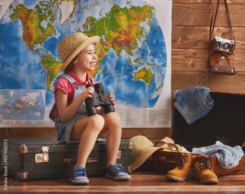 Plakat gotowy na podróż