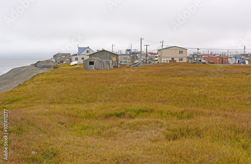 View of an Arctic Village