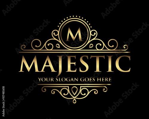 Carta da parati  Majestic logo icon vector