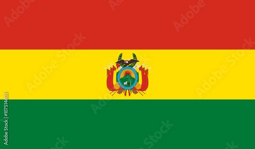 Bolivia Flag Wallpaper Mural