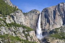 Yosemite Falls In Yosemite Val...