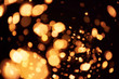 Photo of realistic lens flares star lights, abstract background. Horizontal