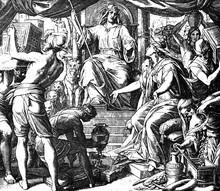 Queen Of Sheba Visits Solomon ...