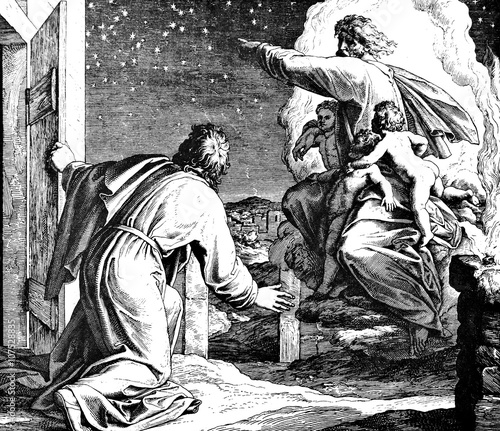 God shows Abraham Stars 1) Sacred-biblical history of the old and New Testament. two Hundred and forty images Ed. 3. St. Petersburg, 2) 1873. 3) Russia 4) Julius Schnorr von Carolsfeld Fotomurales