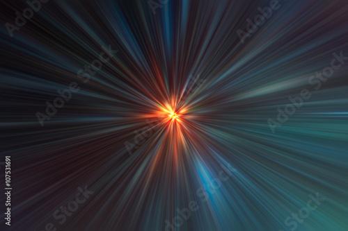 Acceleration super fast speed motion background for design. Wallpaper Mural
