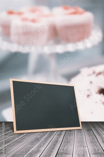 Fototapeta Composite image of chalkboard    obraz na płótnie