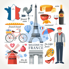 Welcome To France Romance Set