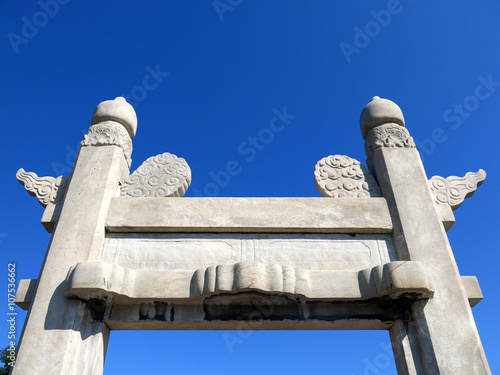 Photo  Monuments surrounding the medieval Temple of Heaven