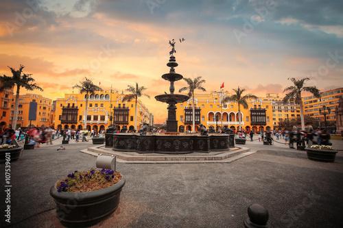 Photo  Panoramic view of Lima