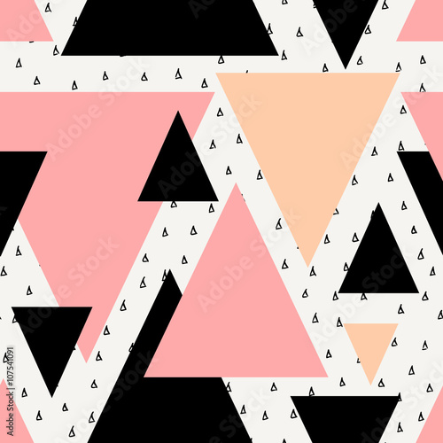 Fototapeta premium Abstract Geometric Seamless Pattern