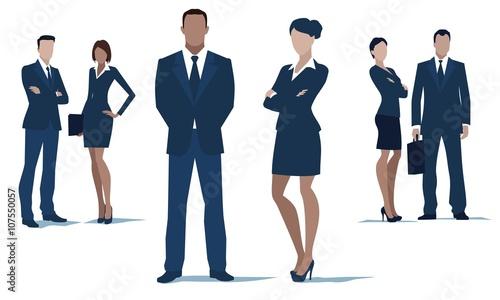 Valokuva  Business people and teamwork