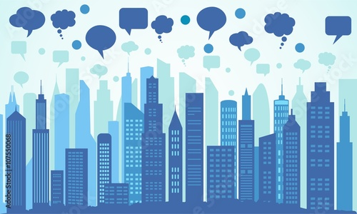 cities and social communication