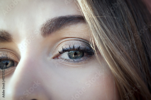 Photo Occhio di ragazza adolescente