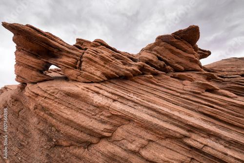 Valokuva  Fantastic rock formations in Arizona, USA.