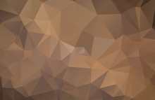 Abstract Background Consisting Of Brown Triangles
