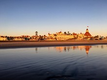 Hotel Del Coronado In The Warm...