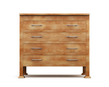 Simple Wooden Chest Of Drawers...