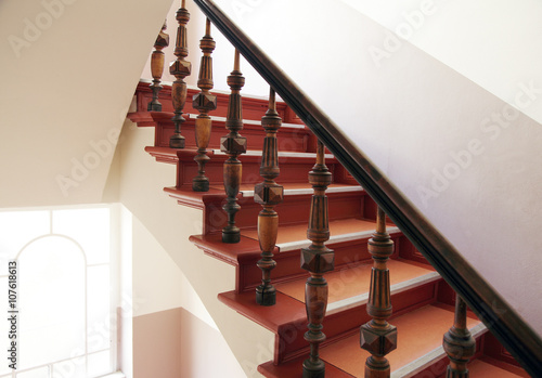 Poster Trappen Treppe