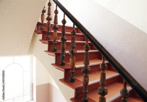 Staande foto Trappen Treppe