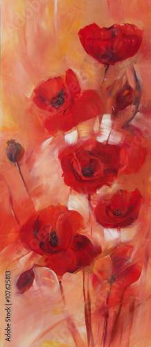 poppies handmade painting - 107625813