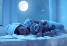 Child Little Girl Sleeping At ...