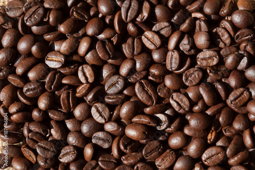 Foto op Aluminium Koffiebonen Caffè