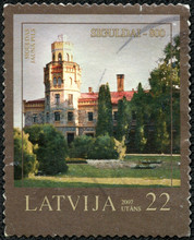 Stamp Printed In Latvia Shows...