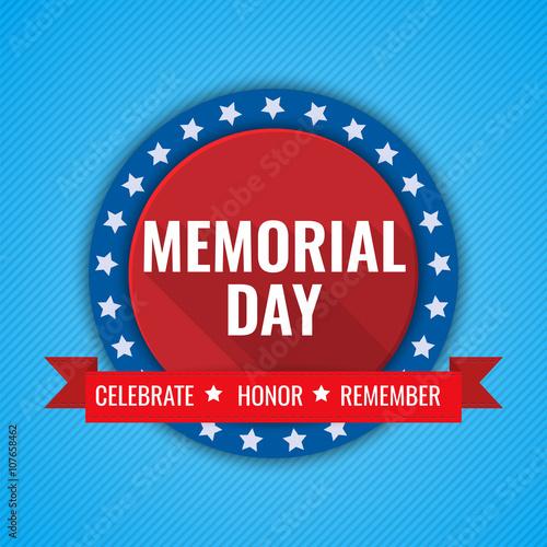 Fotografía  Memorial Day background