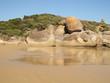Beautiful Australian coast in Wilson Promontory National Park