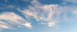 canvas print picture - Cirrus Cloudscape
