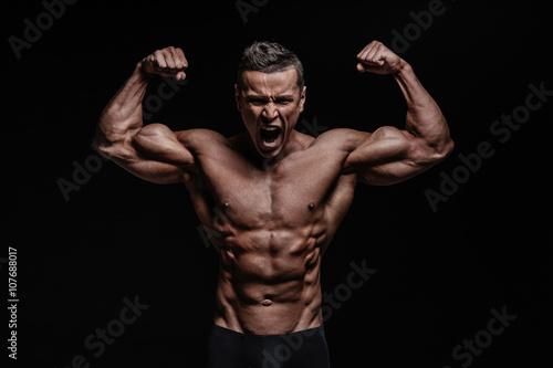 Fotografie, Obraz  Muscular body