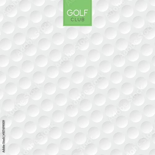Obraz na plátně  golf ball texture background