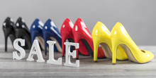 Shoes Sale Concept