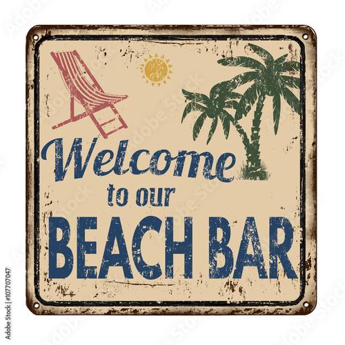 bar-na-plazy-zardzewialy-metalowy-znak