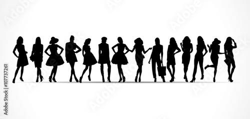 Photo  Silhouettes femmes