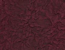 Wrinkled Burgundy Fabric