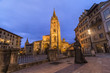 Oviedo,catedral al atardecer
