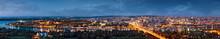 Belgrade Panorama By Night, Da...