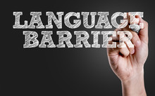 Hand Writing The Text: Language Barrier